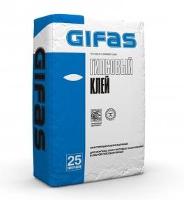 Клей гипсовый  25 кг ГИФАС