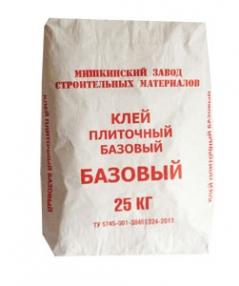 Клей плиточный базовый 25кг МЗСМ