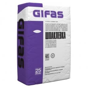 Шпаклевка полимерная FINISH 25 кг. ГИФАС