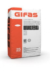 Шпаклевка полимерная KR  25 кг. ГИФАС