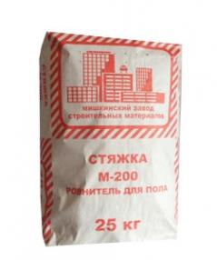 Стяжка для пола М200 25 кг МЗСМ