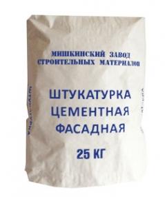 Штукатурка цементная фасадная 25 кг МЗСМ
