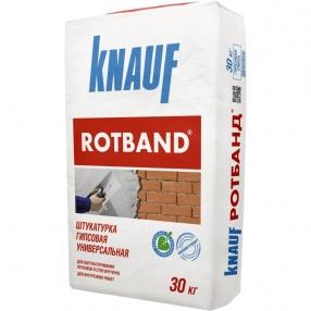 Штукатурка РОТБАНД 30 кг КНАУФ